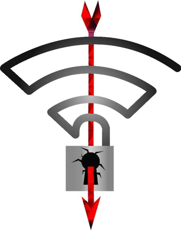 Le logo officiel de KRACK. Cliquer pour agrandir