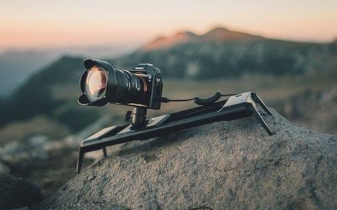 ROV : un rail motorisé pour des mouvements de caméra tout doux