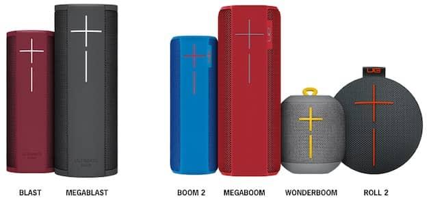 La gamme actuelle, avec les deux nouvelles BLAST à gauche. Tous les anciens modèles restent au catalogue. Cliquer pour agrandir