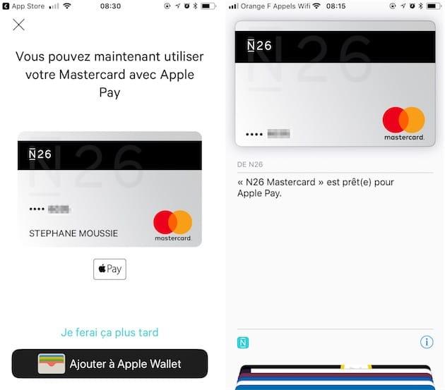 Carte N26 Belgique.Apple Pay Est Active Chez N26 Igeneration