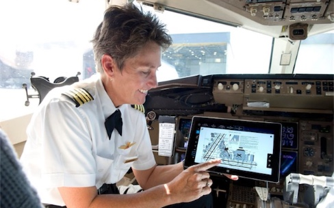 Les iPad et iPhone éjectent les matériels Microsoft de DeltaAirlines