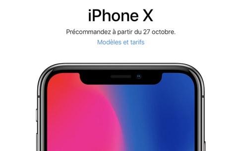 Préparez-vous pour les précommandes de l'iPhoneX