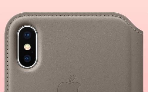 iPhone X : les étuis d'Apple sont disponibles