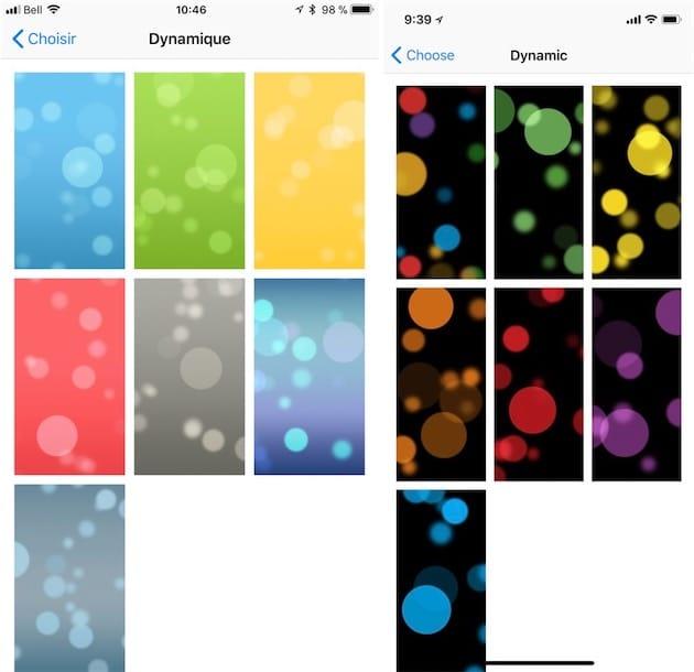 L Iphone X A De Nouveaux Fonds D Ecran Dynamiques Igeneration