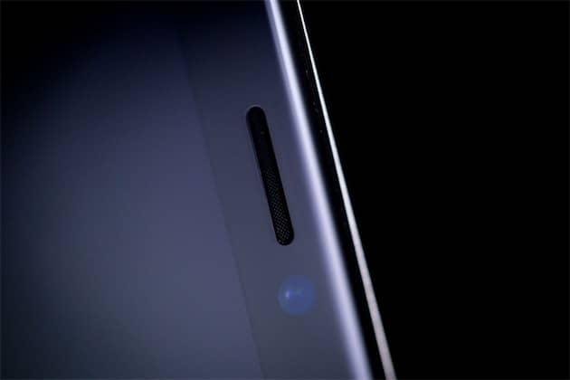 L'encoche de l'iPhoneX. Cliquer pour agrandir