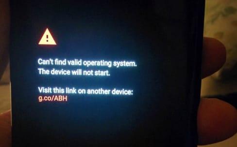 Ivre, Google oublie d'installer Android dans plusieurs Pixel2XL