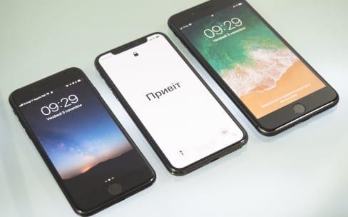 Les ventes de l'iPhone X meilleures que celles de l'iPhone 8 à son lancement