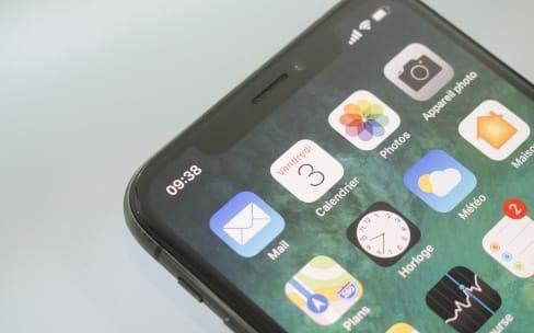 Plus de la moitié des appareils iOS sous iOS 11