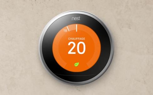 Le Nest est compatible avec les chauffages électriques mais toujours pas avec HomeKit