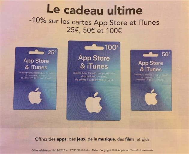 Carte Cadeau Apple.10 De Remise Sur Les Cartes Itunes Chez Carrefour Igeneration