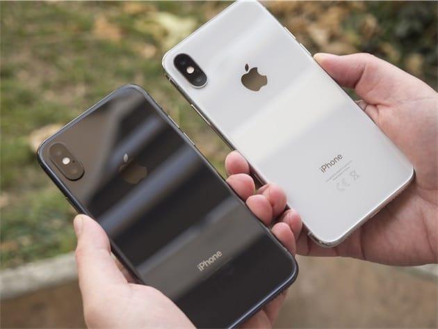 coque apple iphone x gris