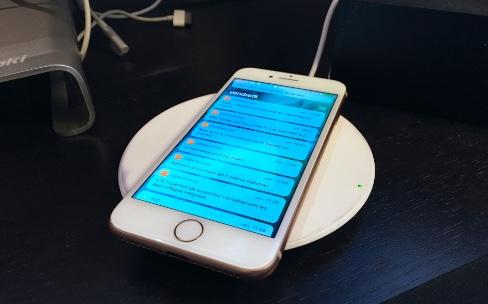 Tests de recharge sans fil avec les bêtas d'iOS11.2