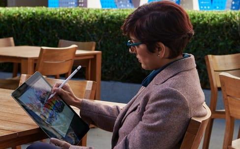 Apple propose des balades créatives avec l'iPad Pro et le Pencil