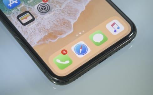 iPhone X : un écran OLED pas si uniforme dans le noir