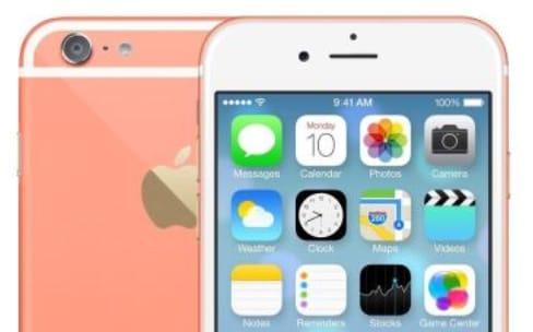 Rose pamplemousse, Vert corallien, Bleu céleste : des teintes originales pour l'iPhone6