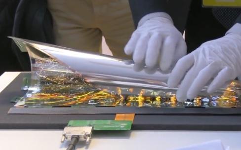 """L'écran pliable de Samsung pourrait aller dans un """"GalaxyX"""""""