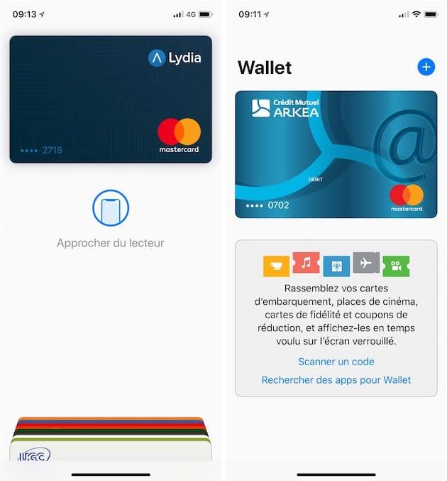 2d155f02e82522 Apple Pay : Lydia et le Crédit Mutuel Arkéa (Fortuneo) compatibles ...