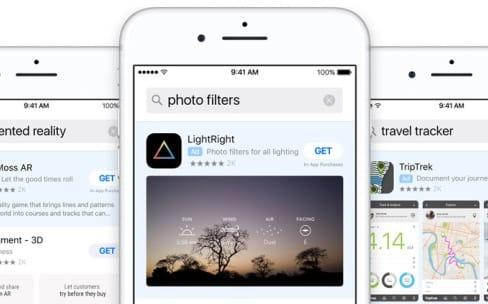 Les bandeaux de pub sur l'App Store s'ouvrent un peu plus