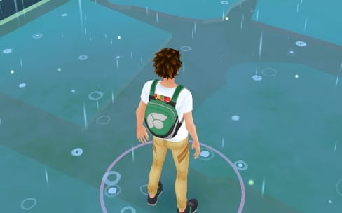 Olive et Tom cherchent des Pokémon dans Portal
