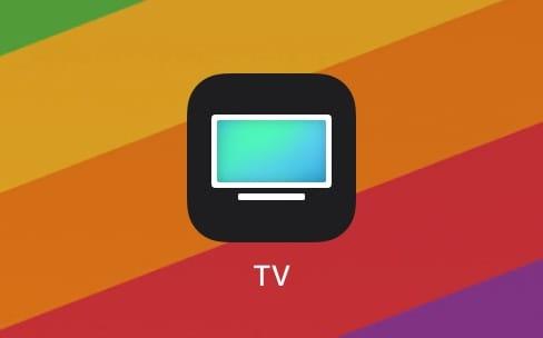 Premier coup d'œil sur l'application TV