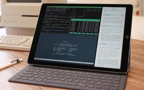 L'iPad et un serveur, un combo gagnant pour travailler