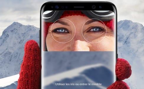 Biométrie: Samsung voudrait ne pas perdre la face avec son scanner d'iris