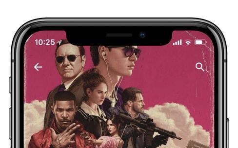 Google optimise Play Musique pour l'iPhoneX