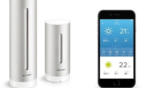 Promos: kits de démarrage Hue à partir de 49€, station météo de Netatmo à 115€