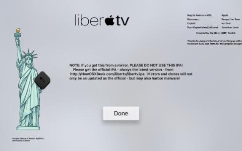 Le jailbreak d'iOS 11/11.1 et de tvOS est disponible