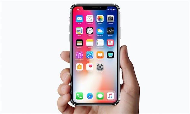 iPhone X. Image Apple.