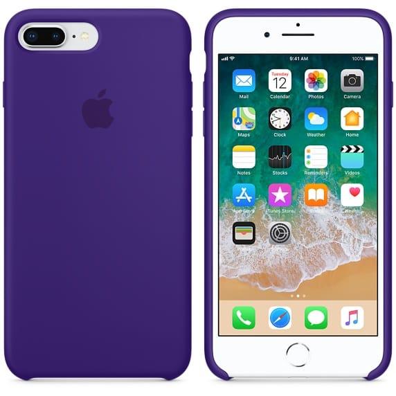 Coque en silicone d'Apple. Image Apple.