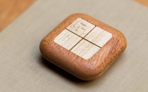 Turn Touch, une télécommande domotique en bois