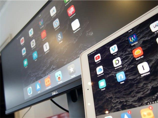 Voilà des limitations qui éliminent une bonne partie de l intérêt de  brancher un moniteur à l iPad… Même s il faut reconnaître qu avoir sous les  yeux une ... 2cb04450fd79