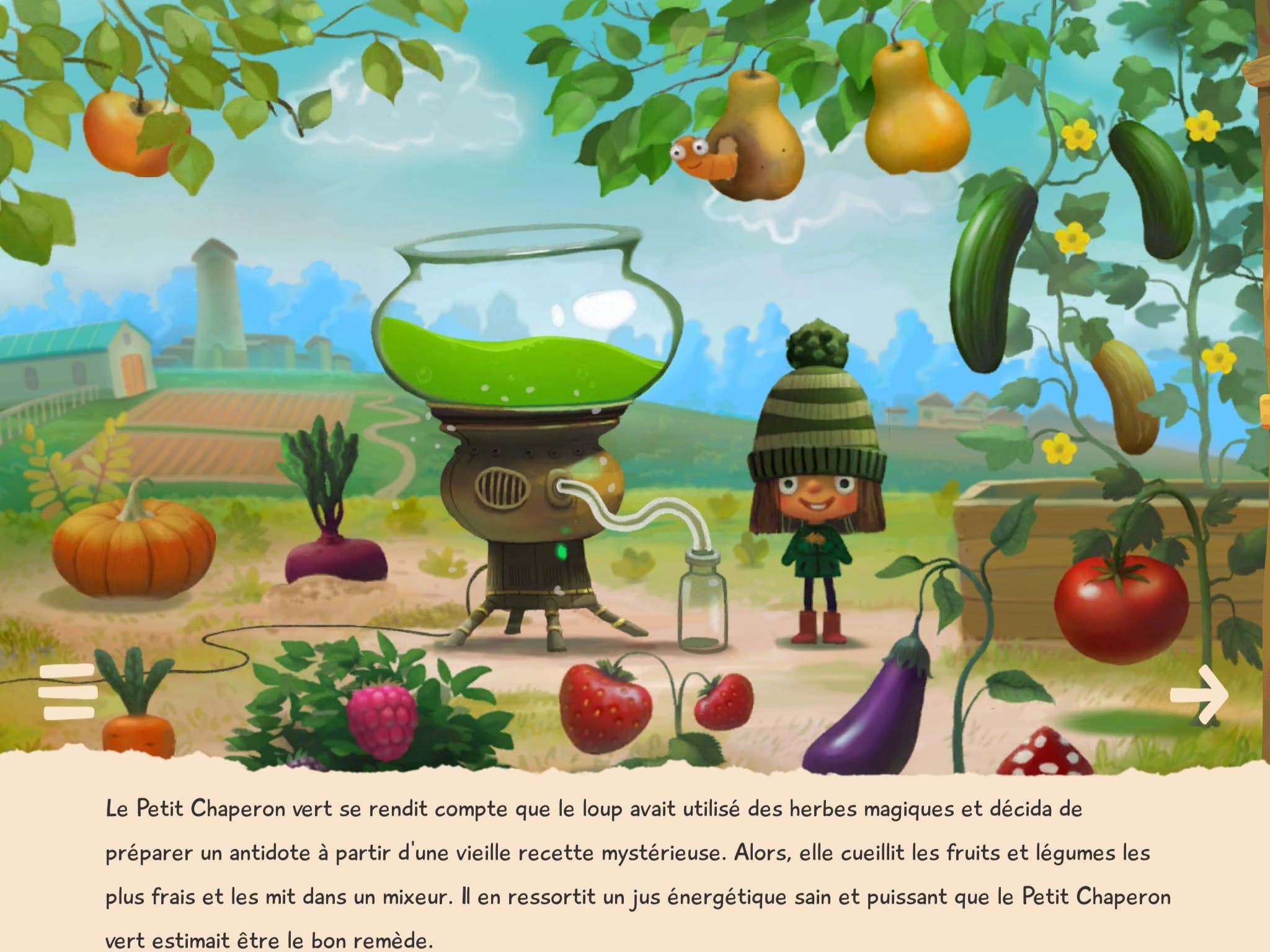 """Résultat de recherche d'images pour """"le petit chaperon vert appli"""""""