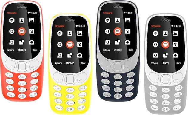 Nokia 3310. Image Nokia.