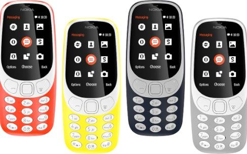 HMD ressuscite le Nokia3310