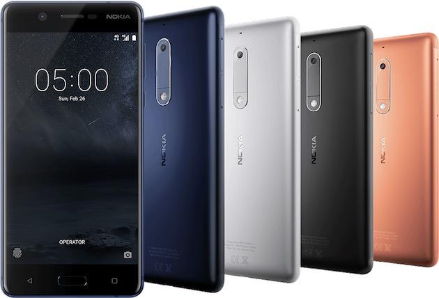 Nokia 5. Image Nokia.