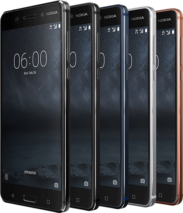 Nokia 6. Image Nokia.