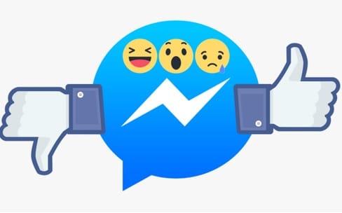 Facebook : des réactions aussi dans Messenger