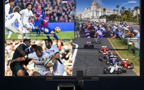 Le Multi-live arrive aujourd'hui dans myCanal sur l'AppleTV