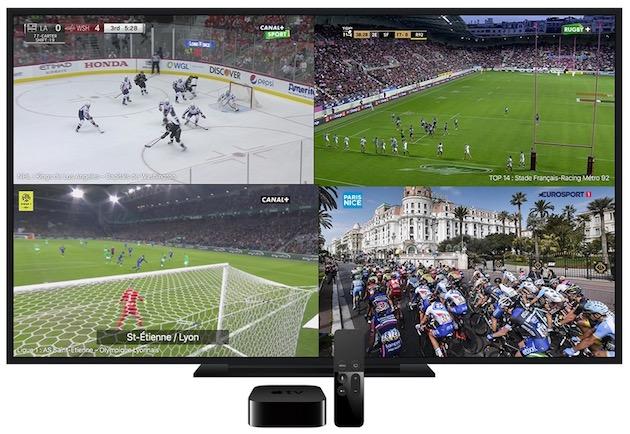 Le Multi-live arrive aujourd'hui dans myCanal sur l'Apple TV | iGeneration