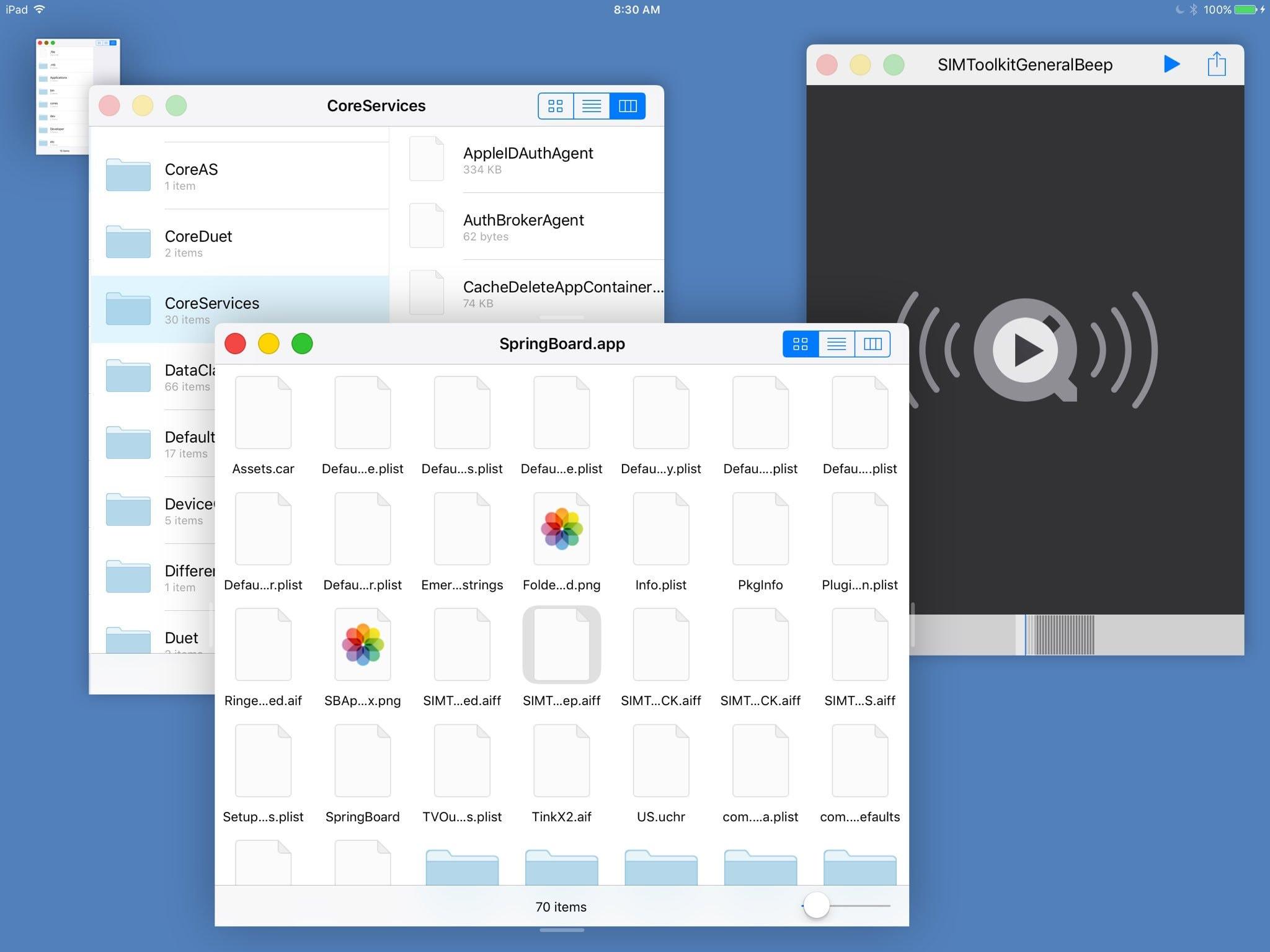 Est ce apple de d cider si l ipad peut avoir des for Mac fenetre hors ecran
