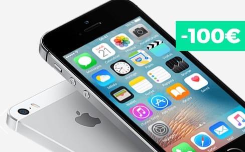 Dernier jour pour l'iPhone SE 16 Go à 295€chez SFR RED
