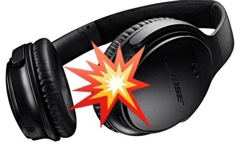 Les casques Bluetooth (aussi) peuvent exploser