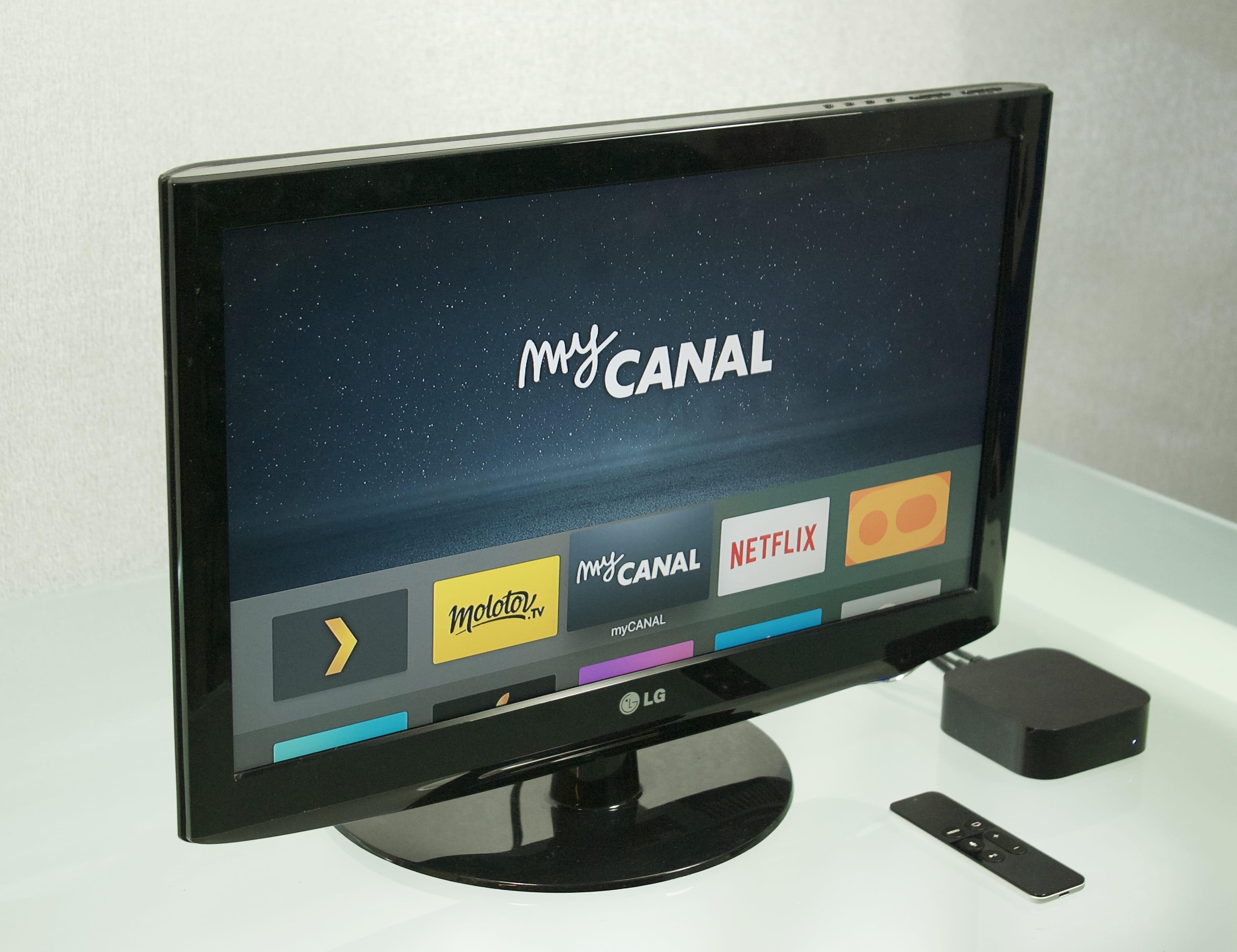 mycanal et molotov sur apple tv une lucarne sur le futur de la t l vision igeneration. Black Bedroom Furniture Sets. Home Design Ideas