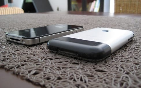 Le nouvel iPhone aurait un design proche du premier