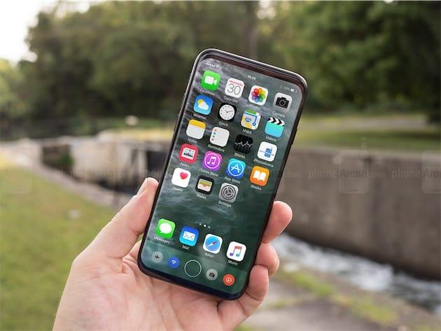 Un autre concept d'« iPhone 8 », cette fois par phoneArena.