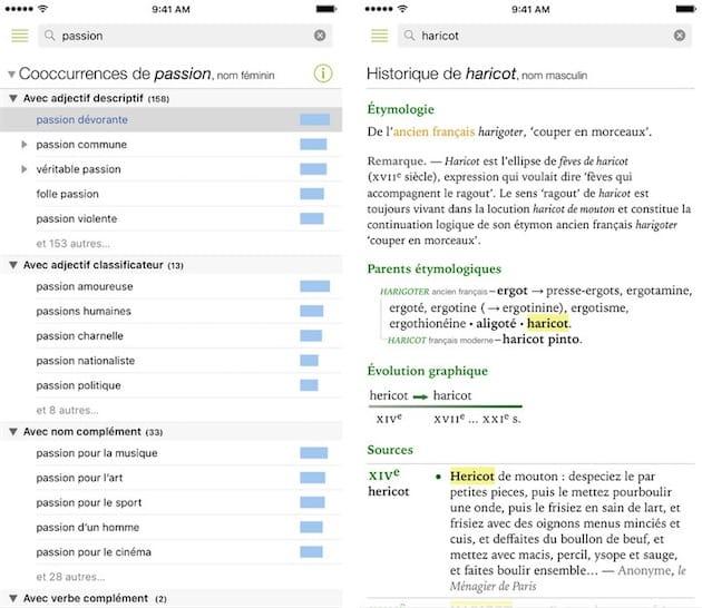 antidote dictionnaire gratuit pour iphone