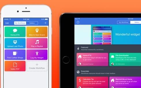 Apple rembourse les achats récents de Workflow