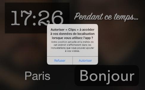 Clips, une app pas comme les autres sur l'AppStore